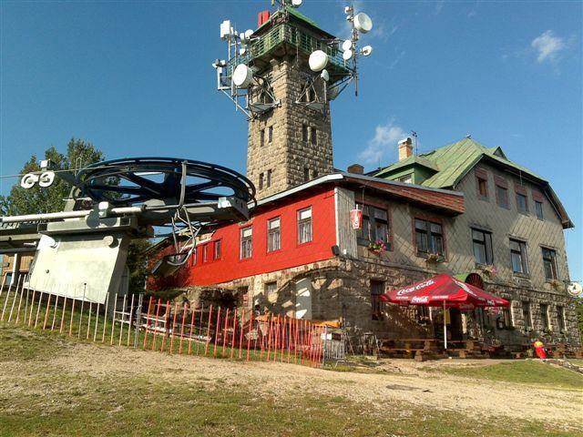 Rozhledna Tanvaldský Špičák - Letní slavnost ke 100 letům otevření restaurace