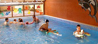 Aqua club ORCA Jihlava - malý bazén, vaničky, sauna, herna