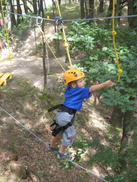 Lanový park Kristýna - Program pro školní výlety