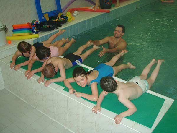 RC Čtyřlístek Praha - Plavání rodičů s dětmi v RC Čtyřlístek