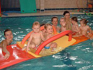 Studio Motýlek - Plavání rodičů s dětmi v bazénu Studia Motýlek