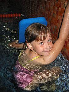 Studio Motýlek - Samostatné plavání dětí v bazénu Studia Motýlek