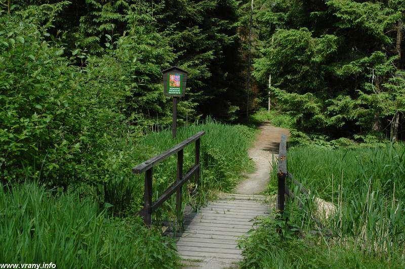 Naučná stezka Červené blato - procházka přírodní rezervací
