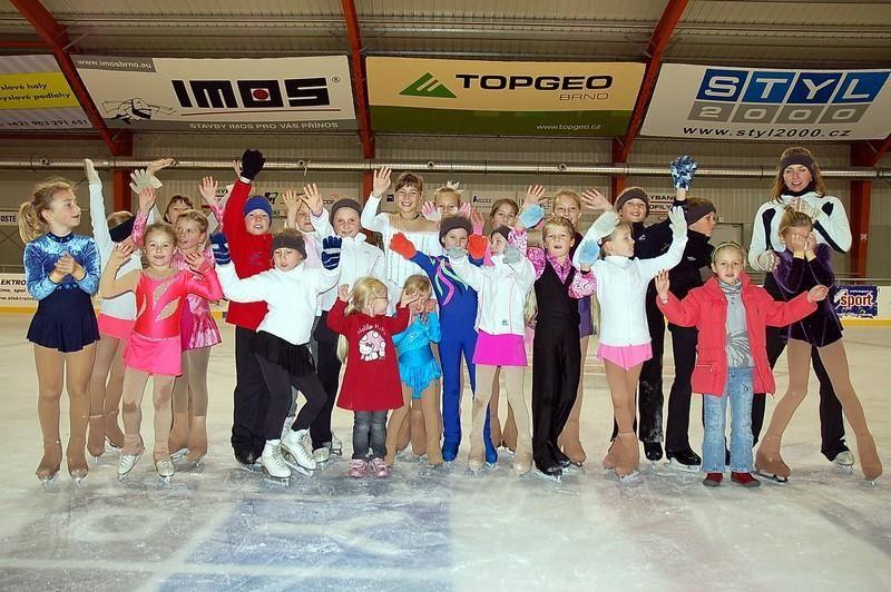 FSC Brno - Kurzy bruslení v Hokejové hale dětí a mládeže Brno