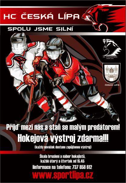 HC Česká Lípa - Školička bruslení a nábor hokejistů