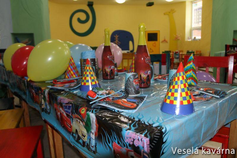 Veselá kavárna Brno-Řečkovice - Narozeninové oslavy, dětské párty