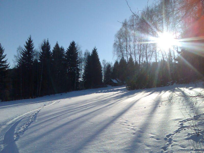 Skiareál Nezdice na Šumavě
