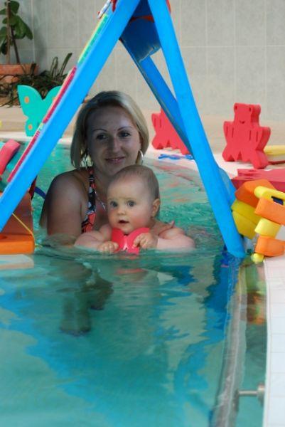 Lázně Berta - Plavání kojenců a batolat v Lázních Berta, Třeboň