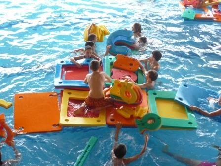 Tepvos - Plavání rodičů s dětmi v bazénu v Ústí nad Orlicí