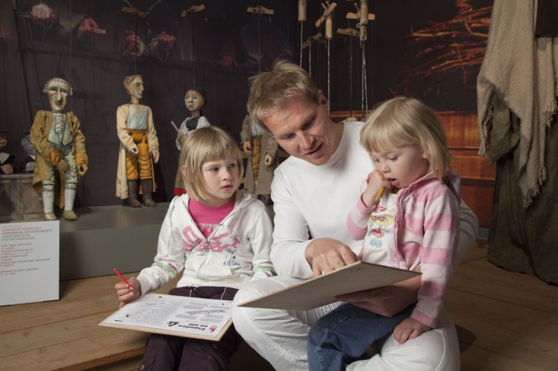 Muzeum loutek Plzeň - Expedice na niti (program Father Friendly)