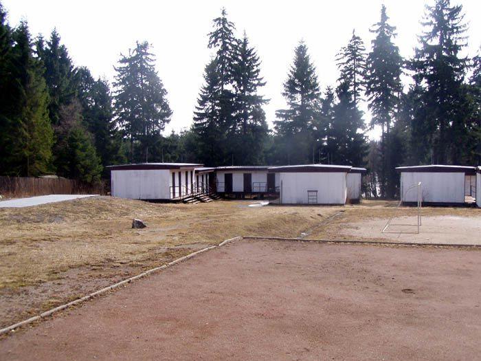 Táborová základna Tři studně
