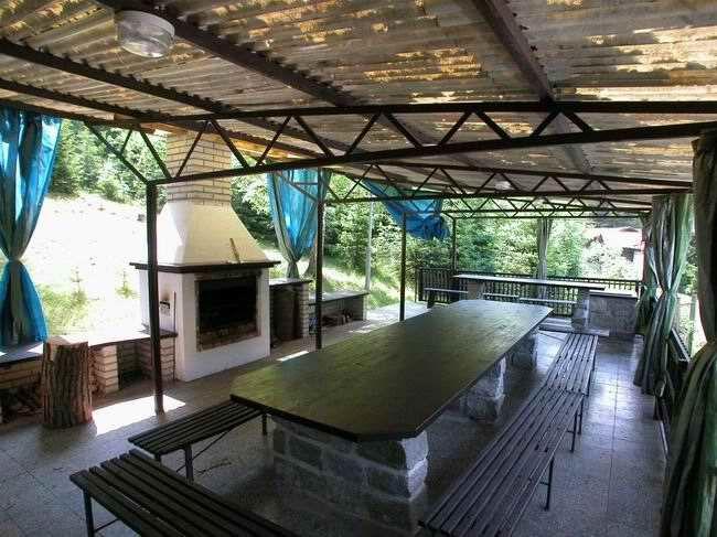 Táborová základna Podhradí u Ledče nad Sázavou