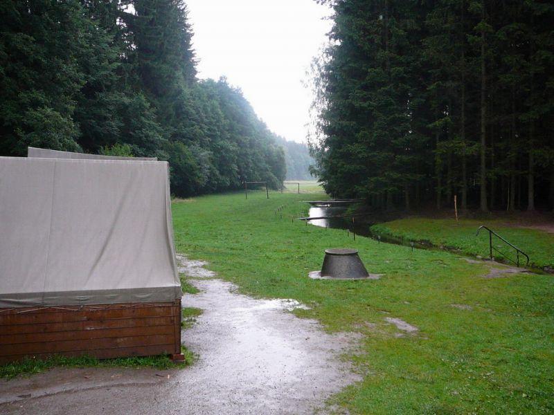 Táborová základna Rohozná