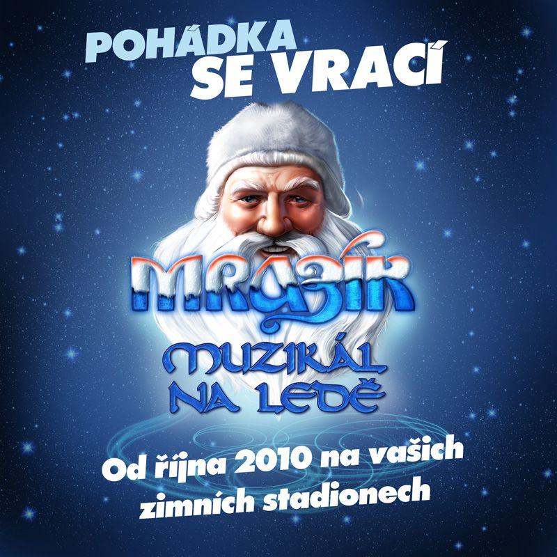 Zimní stadion Budvar aréna České Budějovice - MRAZÍK - muzikál na ledě