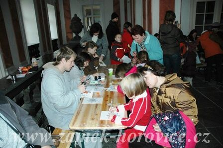 Zámek Hořovice - Adventní prohlídky zámku Hořovice pro veřejnost