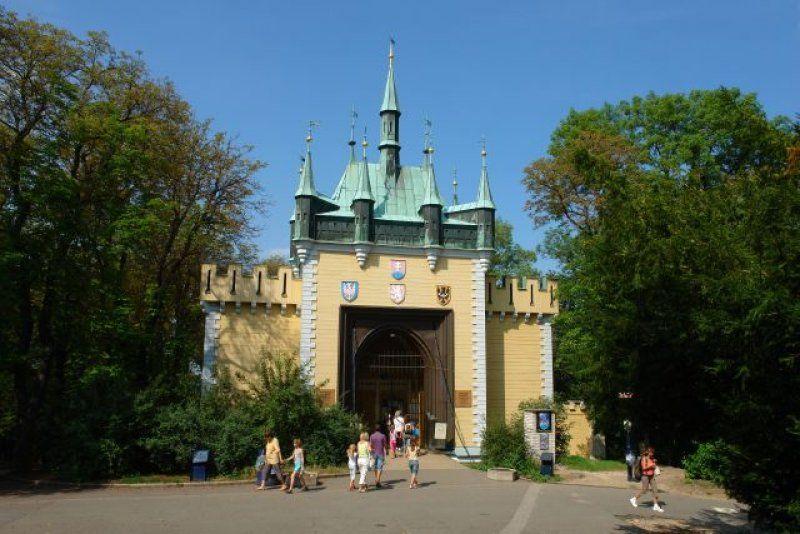 Zrcadlové bludiště Praha Petřín