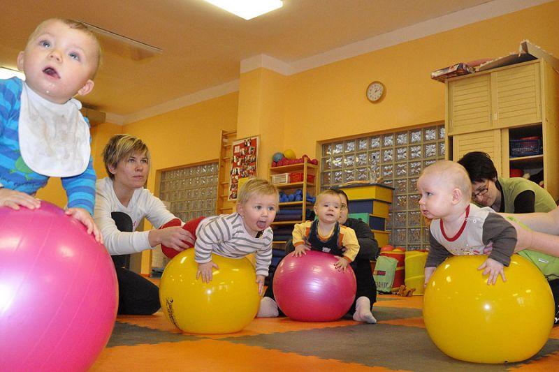 Plaváčci Brno - Cvičení miminek a dětí v Centru tance Dynamic, Brno