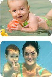 PŠ Hastrmánek (Dostálová N.) - Plavání rodičů s dětmi v Modré laguně, Bílovec