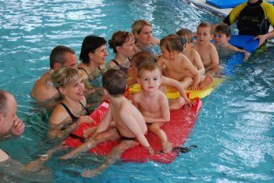 Bonifác - Plavecký kurz rodičů s dětmi od 3 do 5 let v Lázních Klimkovice