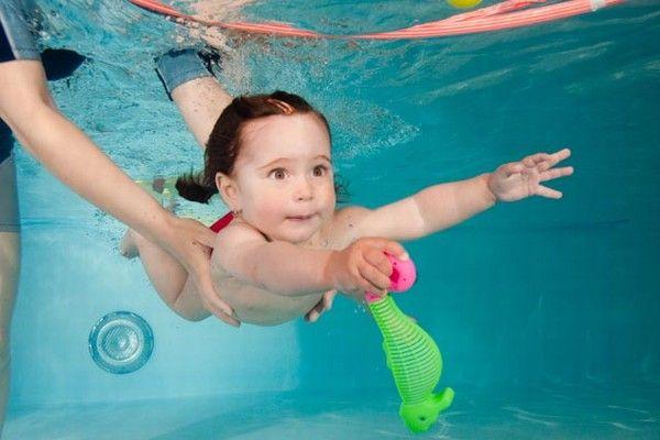 Vydrýsek - Plavání batolat (do 3 let) v bazénu Všestary