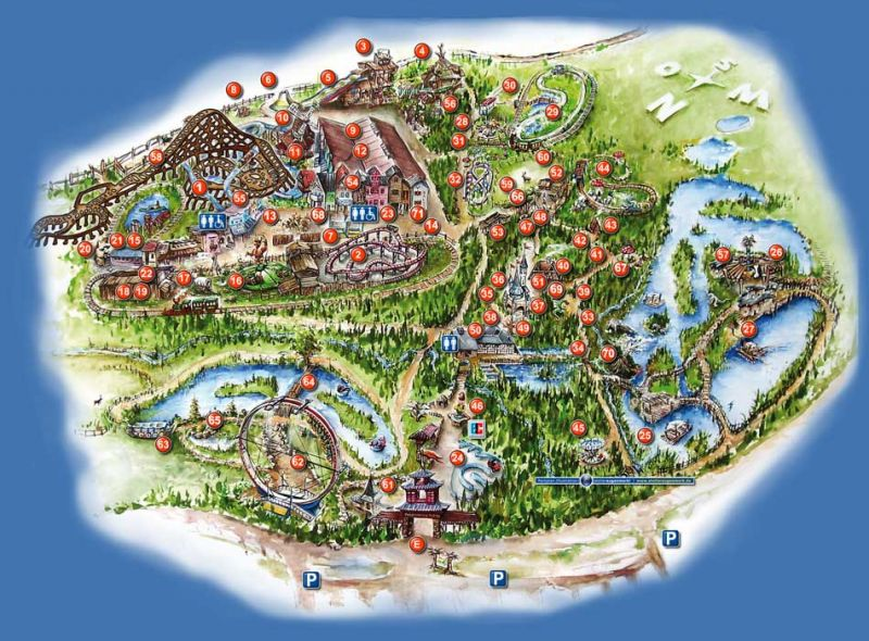 Freizeitpark Plohn, Německo