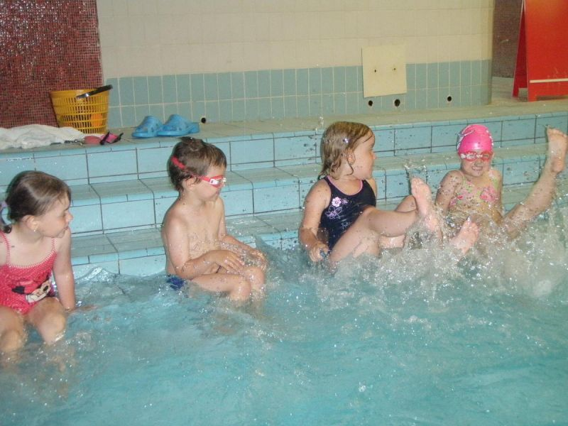 PLAVMIMI Liberec - Samostatné plavání dětí v bazénu Liberec