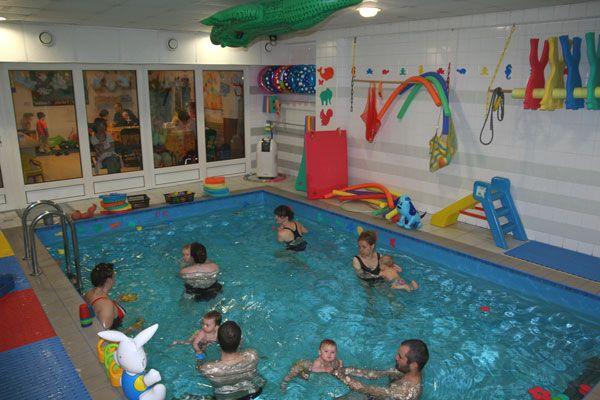 Olomoucké káče - Plavání rodičů s dětmi ve vlastním bazénu centra