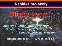 Hvězdárna a planetárium Plzeň - Program pro MŠ, ZŠ, SŠ