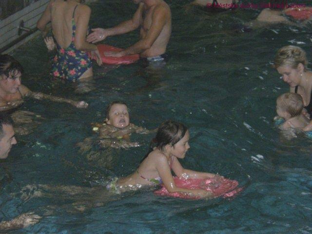 Městské lázné Ústí n. L. - Výuka plavání dětí s rodiči