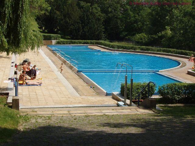 Plavecký areál Klíše, Ústí n. Labem