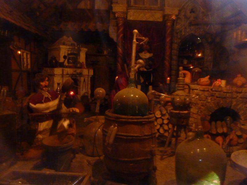 Muzeum betlémů Karlštejn - alchymistická dílna