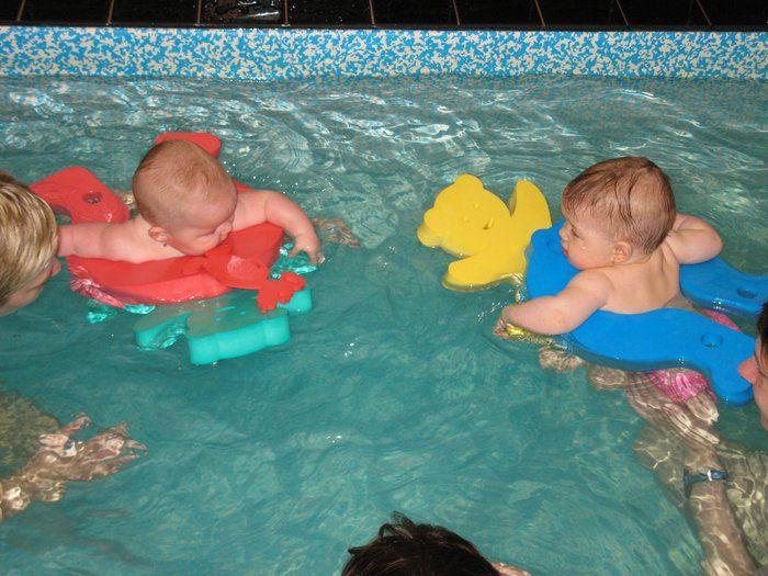 BC Mája, Ústí n. L. - Plavání rodičů s dětmi ve vlastním bazénu klubu