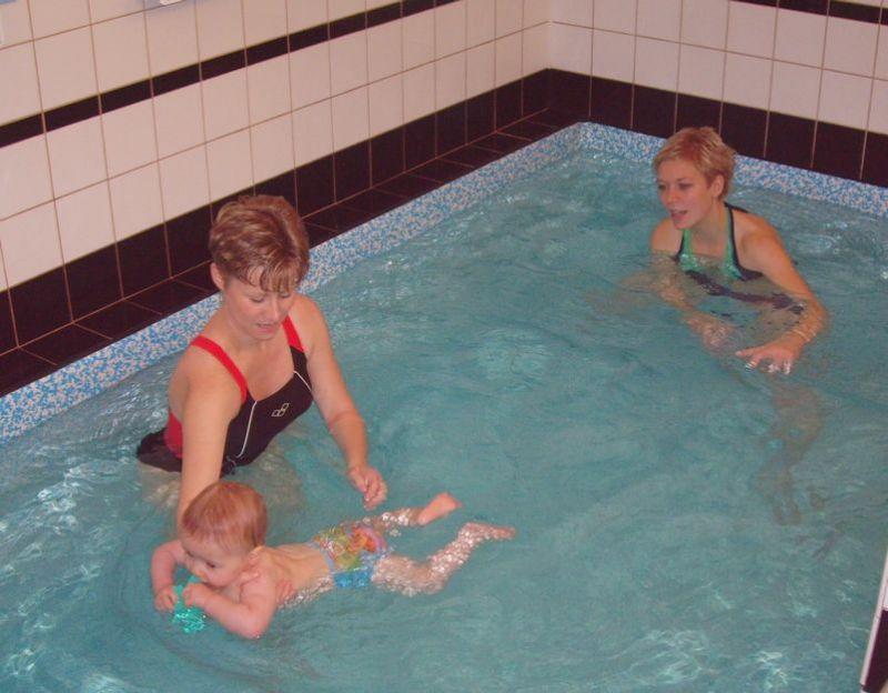 BC MáJa, Ústí nad Labem - Plavání dětí s instruktorkou v bazénu klubu