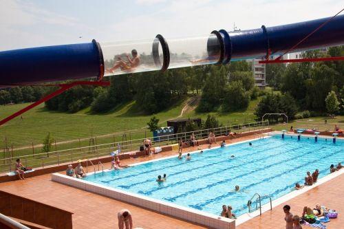 Krytý a venkovní bazén Ostrava - Poruba (SAREZA)