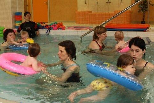 Vodní svět SAREZA, Ostrava - Plavání batolat s klubem Bonifác