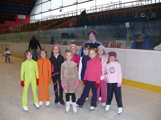 Zimní stadion Prostějov - Škola bruslení