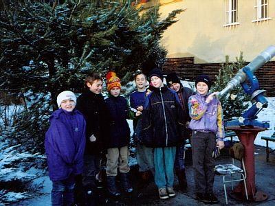 Hvězdárna Karlovy Vary - Astronomický kroužek v DDM K.V.
