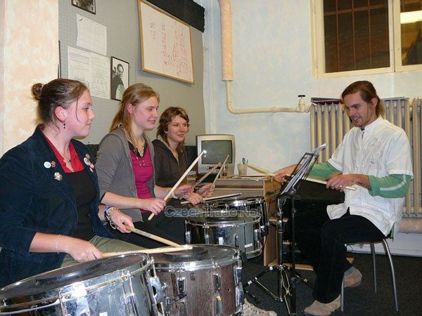 JAM MUSIC INSTITUTE Praha - Hra na bicí