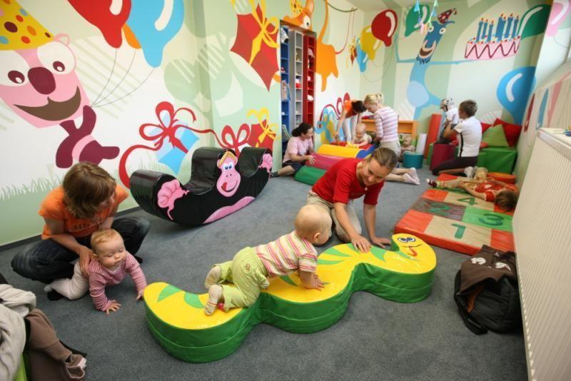 Centrum Jungle Olomouc - Cvičení rodičů s dětmi do 2 let