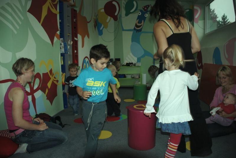 Centrum Jungle Olomouc - Dopoledne pro malé rošťáky (2-4 roky)