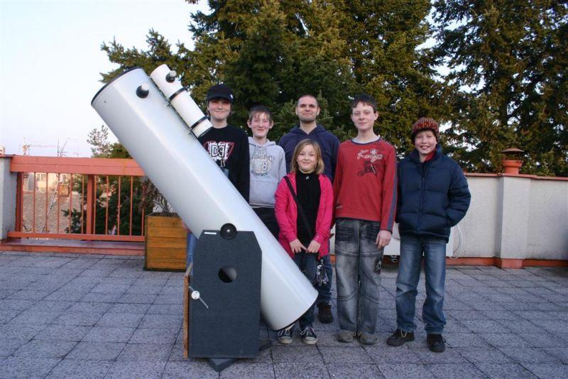 Hvězdárna Pardubice - Astronomické kroužky
