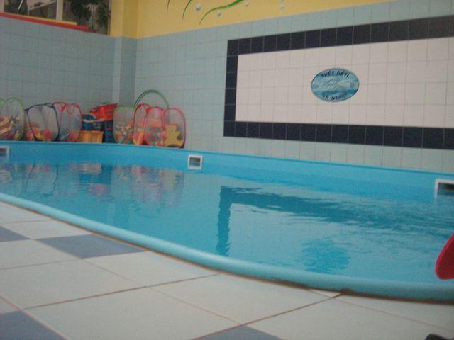 Svět dětí na dlani, Říčany - Plavání rodičů s dětmi ve vlastním bazénu centra