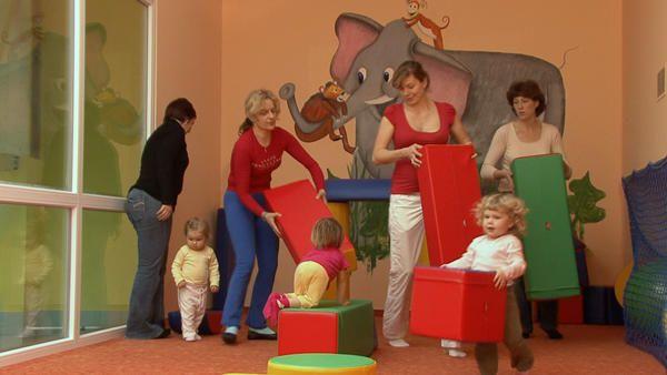 Svět dětí na dlani, Říčany - Cvičení pro rodiče s dětmi
