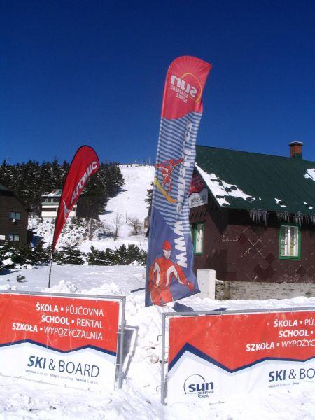 SUN & SKI BOARD SCHOOL - Půjčovna lyžařského vybavení ve Ski areálu Červenohorské sedlo