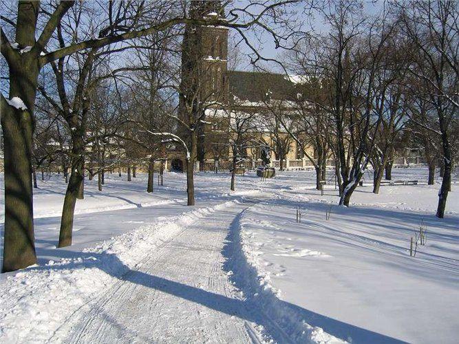Vyšehrad Praha - Vánoční pochod večerní Prahou z Pražského hradu na Vyšehrad