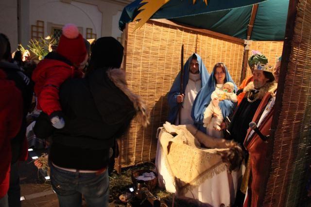 Zámek Loučeň - Živý betlém (4. adventní neděle)