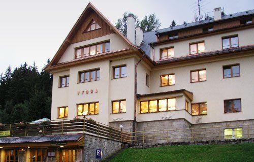 Hotel Vydra, Srní