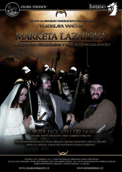 Zámek Stránov - Šermířsko-divadelní bitva