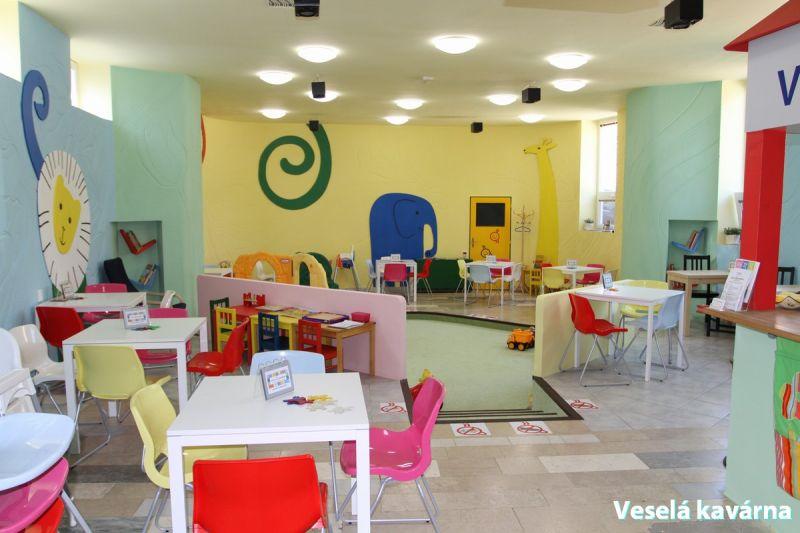 Veselá kavárna Brno-Řečkovice - Pohádky proti pláči