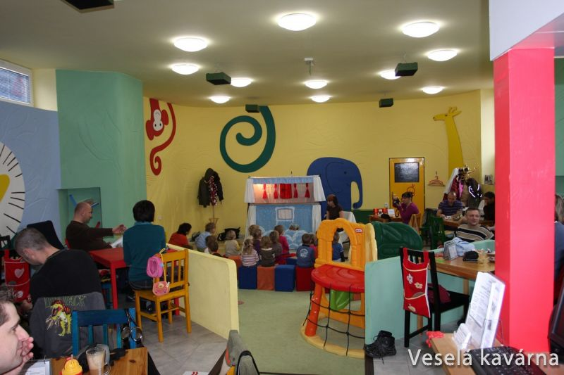 Veselá kavárna Brno-Řečkovice - O duhové slepičce